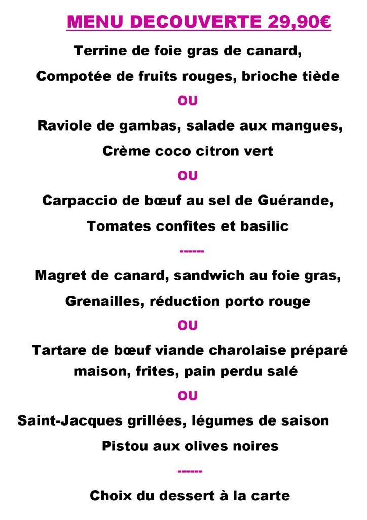Carte Restaurant Bordeaux.Le Two Much Tapas Resto Bar Festif Menu Carte